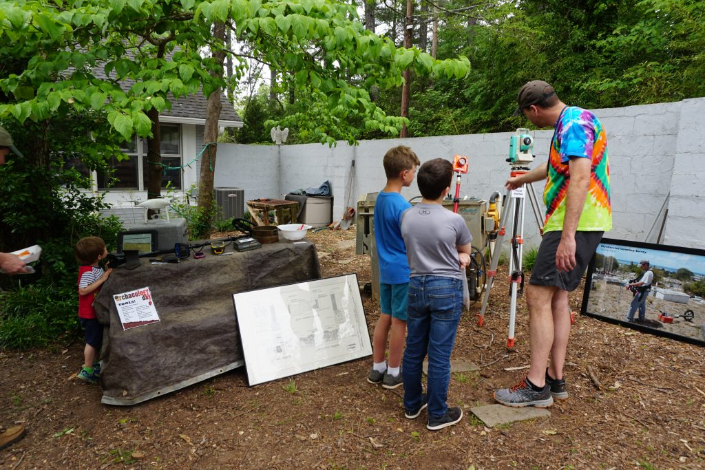 The Archaeological Land Surveying